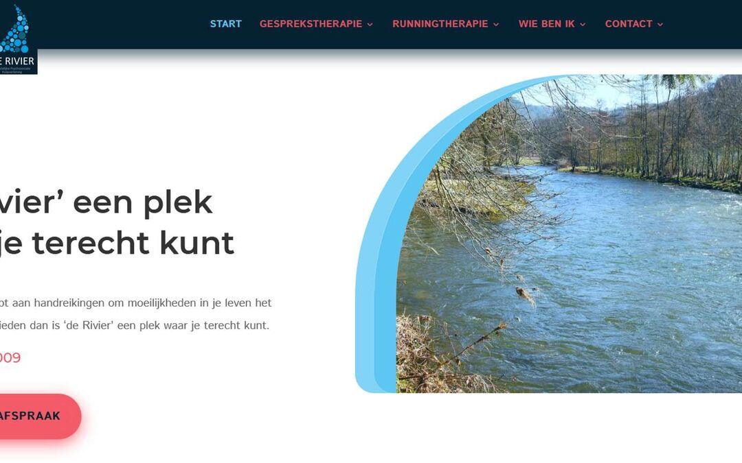 Website De Rivier Therapie