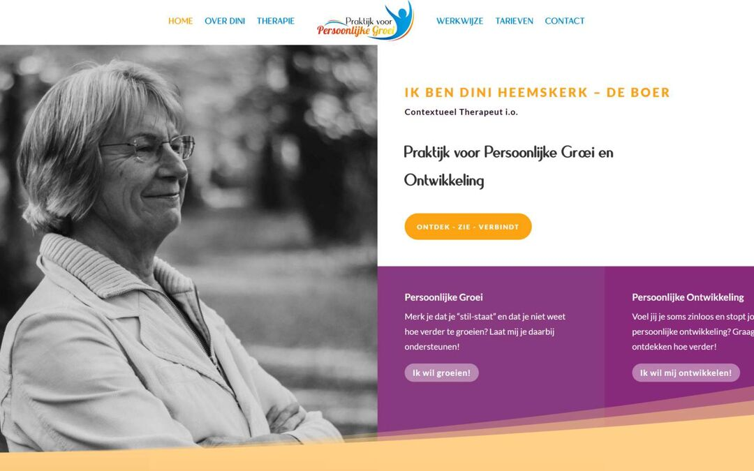 Website Nunspeet Therapie