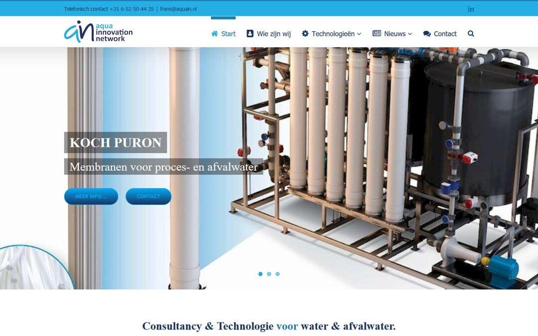 Website Aqua Innovation Network